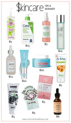 Skincare On A Budget - Minnie Muse Nail Care Routine, Skin Care Routine Steps, Face Routine, Diy Skin Care, Skin Care Tips, Anti Aging Skin Care, Natural Skin Care, Body Care, Face Care
