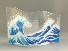Crushed Glass art Ideas - Sea Glass art Mountains - - - Contemporary Glass art Interior Design - Sea Glass art For Mom Broken Glass Art, Sea Glass Art, Glass Wall Art, Water Glass, Glass Beach, Window Glass, Shattered Glass, Stained Glass Ornaments, Stained Glass Art