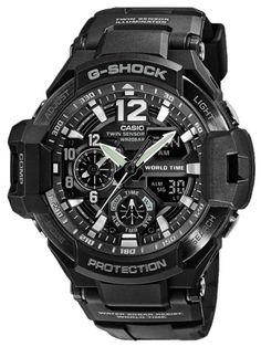 CASIO Relógio G-SHOCK GRAVITYMASTER   GA-1100-1AER…
