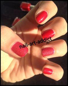 Nail Art & Beauty Addict: Nail Art : Kiko 445 & 453
