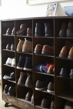 #Shoe rack | Private House | #Battersea London | www.gilespike.com