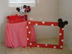 Mickey and Minnie Mouse Birthday Party Ideas | Photo 14 of 15 | Catch My Party