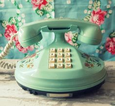 I have this exact phone in cream, which sits on my bed constantly.  It belonged to my mother..