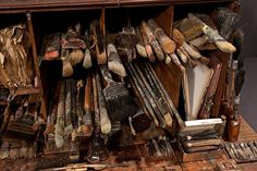 Brushes by Ron Pippin