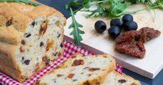Recette de Cake aux tomates séchées et olives noires. Facile et rapide à réaliser, goûteuse et diététique. Ingrédients, préparation et recettes associées.