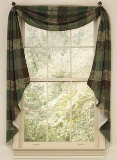Cabin 9 Design - Rustic Cabin Décor ~ neat way to frame windows - love this