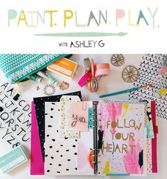 Art Journaling class with artist Ashley Goldberg @studio_calico