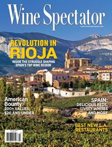 Oct. 15, 2012: Revolution in Rioja. Spain's most prestigious appellation draws on a glorious past while molding a future that rises to the challenges of modern tastes. As Rioja charts its destiny, and tradition and innovation interplay, the result is a fascinating mix of styles in tension.
