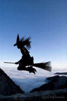 Witches do fly!