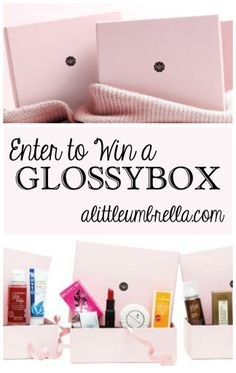 Put A Little Umbrella In Your Drink: Enter to Win a Glossybox! I entered to win a Glossybox! http://www.alittleumbrella.com/2014/02/enter-to-win-glossybox.html