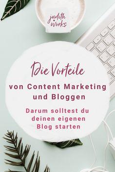 Funktioniert Content Marketing und bloggen nachhaltig für deinen Business Erfolg? Lohnt es sich einen eigenen Blog zu starten? In meinem Blog Beitrag erfährst du, warum du einen Blog erstellen solltest, wie Blog Beiträge schreiben deine Sichtbarkeit und Reichweite erhöhen kann und die Vorteile von Content Marketing. Den bloggen macht dich ein bisschen unsterblich. #bloggenfüranfänger #contentmarketing #blogtipps #judithworks Judith, E-mail Marketing, Decorative Plates, Website, Article Writing, Learning To Write, Finding Someone Quotes