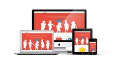 Um site responsivo permite que seus clientes o acessem através de qualquer dispositivo como PCs, smartphones, tablets, SmartTVs e consoles de videogame portáteis.
