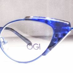 OGI 5300 Titanium 1415 Blue Marble/Blue   Mercari Sunglasses Accessories, Women's Accessories, Latest Fashion Design, Eye Shapes, Prescription Lenses, Eyeglasses, Eyewear, Marble, Gems