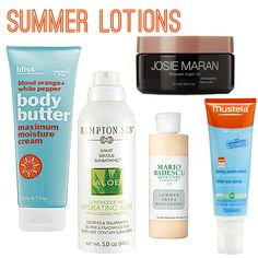 Summer Lotions
