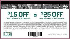 Discount coupons dickssportinggoods