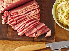 Corned Beef recipe from Alton Brown via Food Network - wow, I didn't realize this would be a 10-day-long affair. Sounds like a project for next year =) #dinner