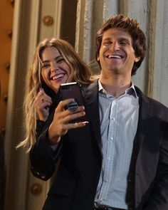 All laughs on the set of Pretty Little Liars❤️