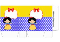 Snow White: Free Printable Candy Paper Bag.