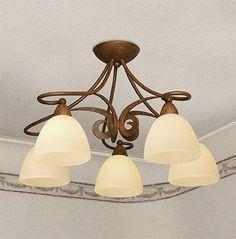 Plafoniera 1730 5 PL Home Furniture, Ceiling Lights, Lighting, Home Decor, Decoration Home, Home Goods Furniture, Room Decor, Home Furnishings, Lights