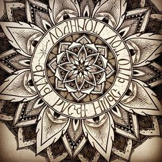 Solstice mandala project day 010 by OrgeSTC.deviantart.com on @deviantART