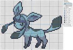 Pokémon – Glaceon » Birdie Stitching