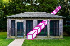Street artist Aakash Nihalani takes his perspective-skewing, geometric tape art installations to East Hampton for a residency at the Willem de Kooning estate. 3d Street Art, Street Artists, Tape Art, Paper Tape, Illusion Kunst, Illusion Art, Design Websites, Instalation Art, Dimensional Shapes