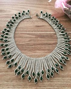 The 12 Best Seed Bead Jewelry 2017 Scheme for Pearls & Roses Seed Bea . - The 12 Best Seed Bead Jewelry 2017 Scheme for Pearls & Roses Seed Bead Tutoria … – DIY Jewelry - Beaded Necklace Patterns, Beaded Jewelry Designs, Bead Jewellery, Jewelry Making Beads, Bracelet Patterns, Necklace Designs, Handmade Jewelry, Beaded Bracelets, Jewellery Making
