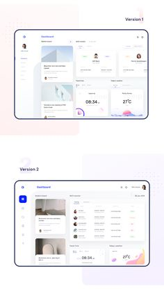 Dashboards collection for schedule and monitoring on Behance Dashboard Ui, Dashboard Design, App Ui Design, Interface Design, Ui Design Inspiration, Layout, Interactive Design, Web Development, Behance