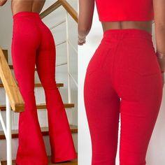 🔴#Rojo, llegó el pantalón oxford 👏🏼👏🏼que siempre es el centro de todas las miradas!!💃🏻👏🏼 . ▶Pantalón Oxford $699 ef. . ▶A pedido de… Classy Outfits, Pretty Outfits, Beautiful Outfits, Cute Outfits, Fiesta Outfit, Clubbing Outfits, Red Pants, Elegant Outfit, Boyfriend Jeans