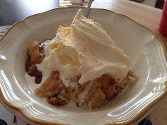 Homemade apple cobbler recipe!