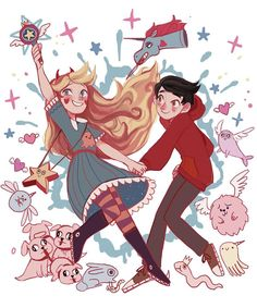 Star Vs. The Forces of Evil by imamong on DeviantArt