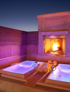Kick back at an ultimate spa in #California.