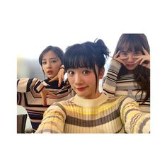 "17.4k Likes, 317 Comments - 永野芽郁 (@mei_nagano0924official) on Instagram: ""・ Seventeen発売してます 1日限定のボーダー三姉妹です笑"""