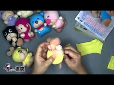 Making doll socks 2 - YouTube