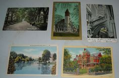 (5) Vintage #Albany New York postcards @NewYork