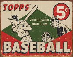 baseball cards and gum