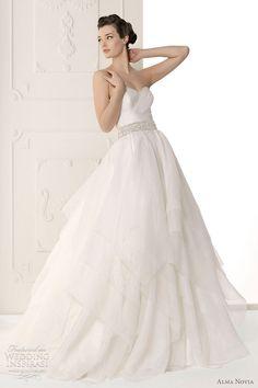 alma casamento novia 2012 - vestido de noiva Sutil