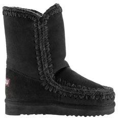 Mou Eskimo Short Boots Women Black - MOU #mou #eskimo #boots #women #fashion