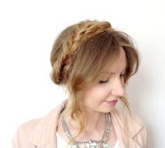 Fishtail milkmaid braid | wianek, korona z włosów