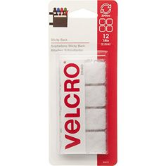 Office Products - VELCRO Brand  Sticky Back  78 Squares 12 Sets  White -- Check this awesome product by going to the link at the image.