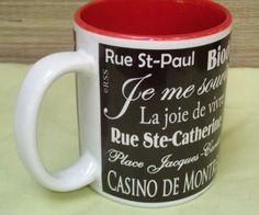 #Montreal #Quebec #Canada Souvenir Coffee Tea Mug