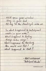 In your wedding dress matt nathanson lyrics heartbreak