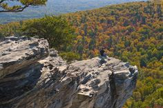 Hanging Rock in Hanging Rock State Park. Great place for hiking!