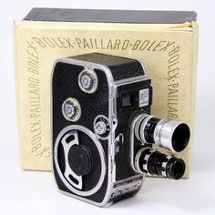PHOTOGRAPHY - Vintage Paillard Bolex B8 Cine Camera.