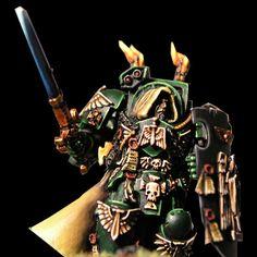 Dark Angels space marines deathwing from warhammer-info