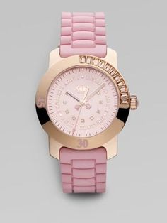 Juicy Couture Watch Women's Hot Pink Jelly Strap £81.89  Repin & Follow my pins for a FOLLOWBACK!