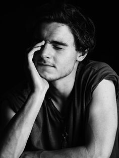 """Callan McAuliffe """"Young Hollywood"""" by Hedi Slimane"""
