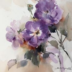 Blue for you... #watercolor #art