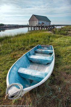 Wixon's Landing, Cape Cod, West Dennis, Massachusetts, États-Unis