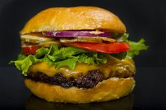 All-American Cheeseburger Recipe.  Master the classic cheeseburger, an American icon
